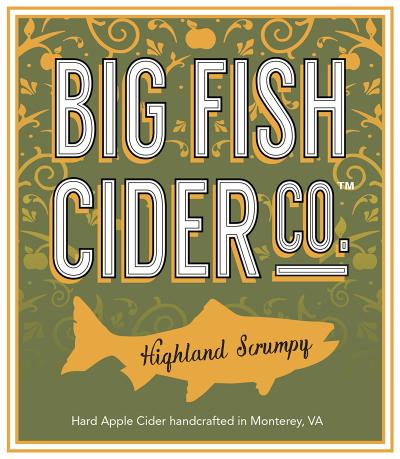 Label - Big Fish Cider Co. - Highland Scrumpy