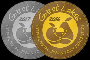 GLINTCAP medals - Silver 2017 Gold 2016