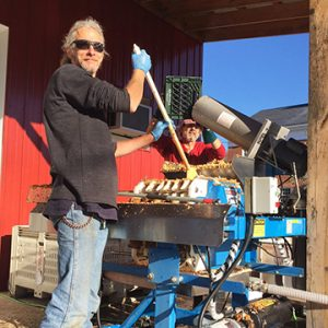 Team Member: Doyle on the Cider Press