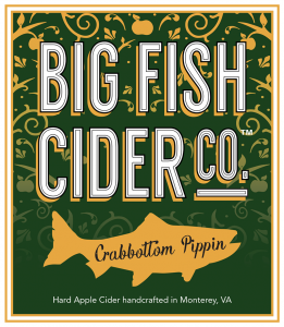 Label - Big Fish Cider Co. - Crabbottom Pippin