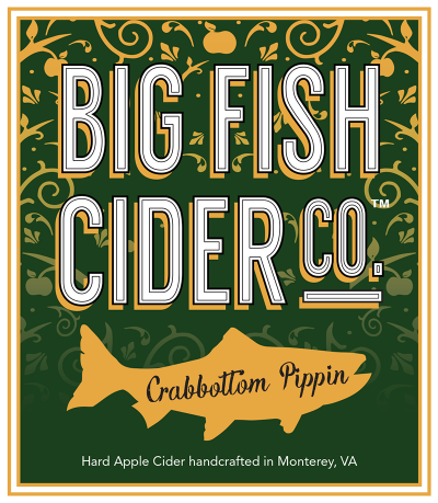 Label - Big Fish Cider Co. - Crabbottom Pippin