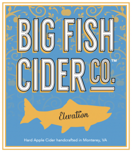 Label - Big Fish Cider Co. - Elevation