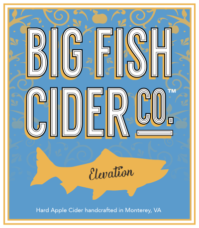Label - Big Fish Cider Co. - Elevation