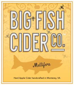Label - Big Fish Cider Co. - Mellifera