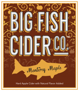 Label - Big Fish Cider Co. - Monterey Maple