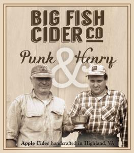 Label - Big Fish Cider Co. - Punk & Henry