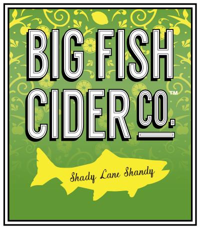 Label - Big Fish Cider Co. - Shandy