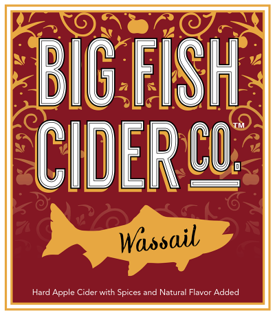 Label - Big Fish Cider Co. - Wassail