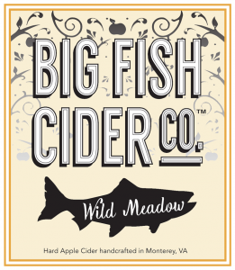 Label - Big Fish Cider Co. - Wild Meadow
