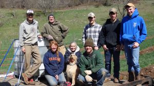 Our Orchard crew - Full Width Image