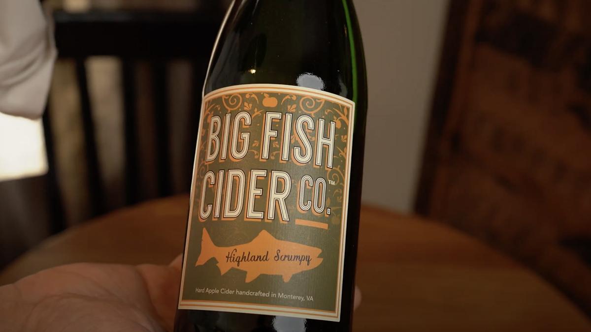 Video Still: Highland Scrumpy cider