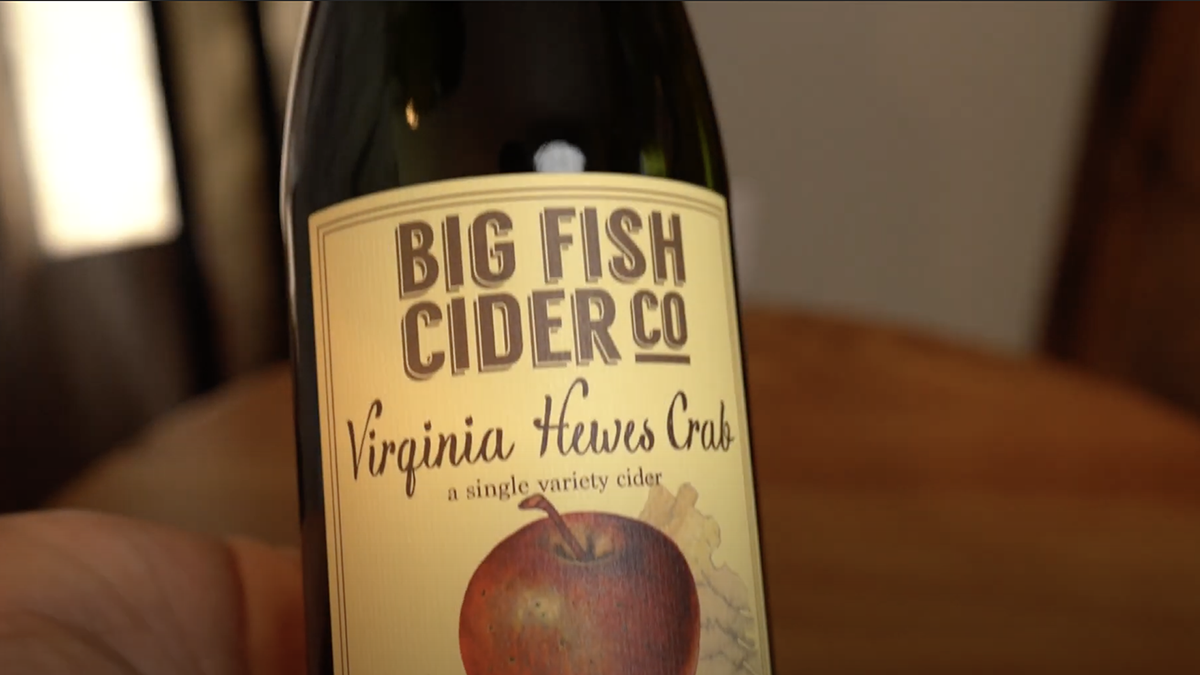 Video Still: Virginia Hewes Crab cider